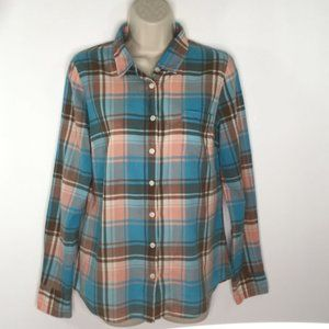 The Perfect Shirt by J. Crew Plaid Button Down
